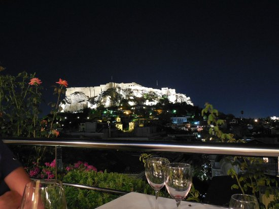 Electra Palace Athens: Dining table view