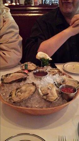 Kaminski's Chop House : Fresh Oysters.