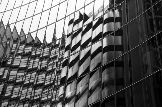 Hairy Goat Photography Tours: Lloyd's Building reflected