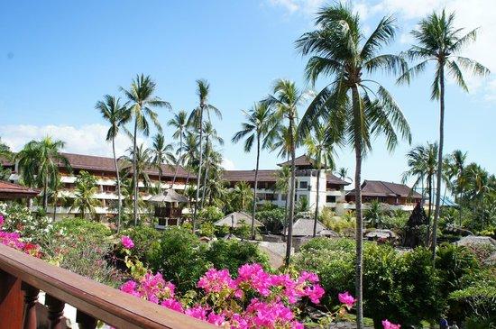 Nusa Dua Beach Hotel & Spa: view from the room