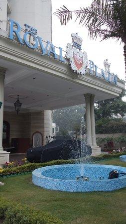 Hotel The Royal Plaza : エントランス