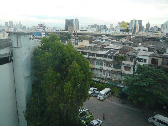 Bangkok Centre Hotel: 6階からの眺め
