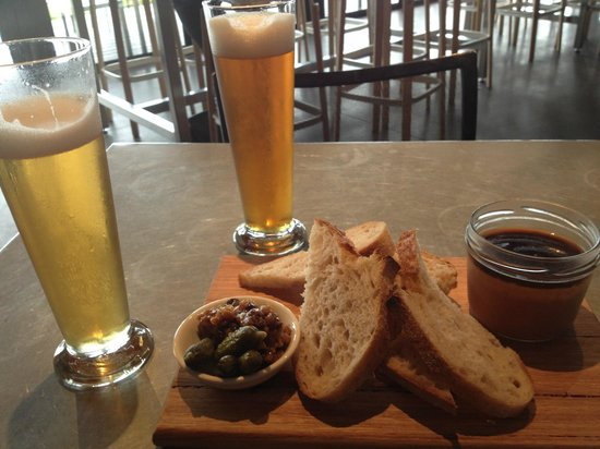 Mona Pavilions: Best pate & Moo brews at MONA Wine Bar