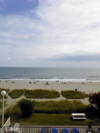 Palmetto Shores Oceanfront: View from our balcony