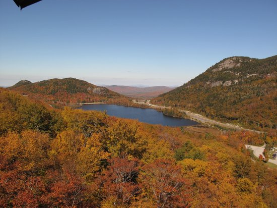 Cannon Mountain: A view from the Aerial Tramway