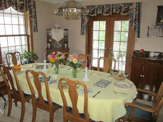 Ridgemoor B&B : Ridgemoor - Dining Room