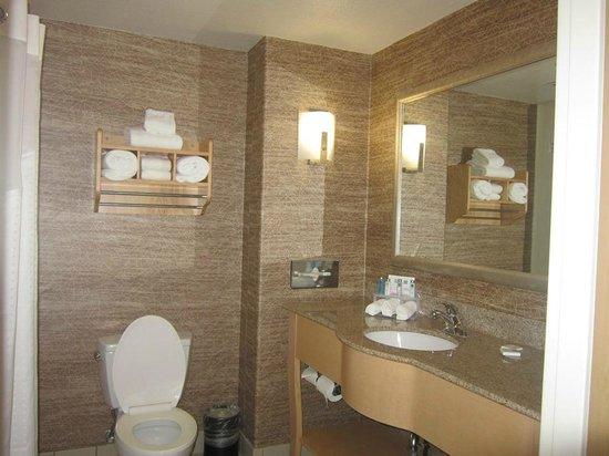 Holiday Inn Express Stockton Southeast: bathroom...nice