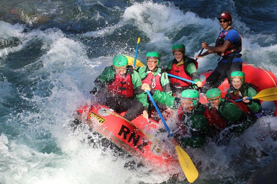 Rafting New Zealand: A mean rush for the whole family to enjoy 8years and up