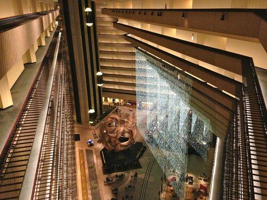 ไฮแอทรีเจนซี่ ซานฟรานซิสโก: Spectacular atrium lobby
