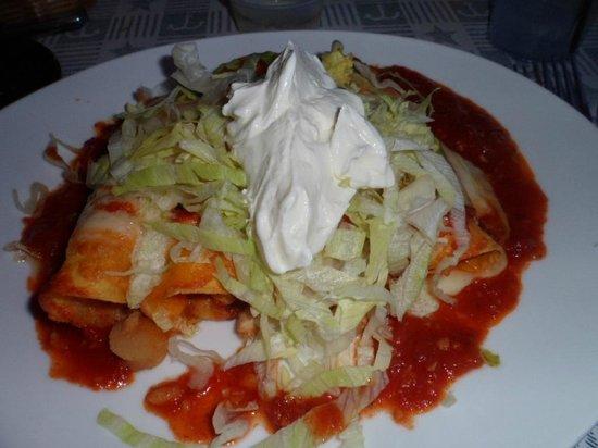 Bayside Grille & Sunset Bar : Seafood Enchiladas