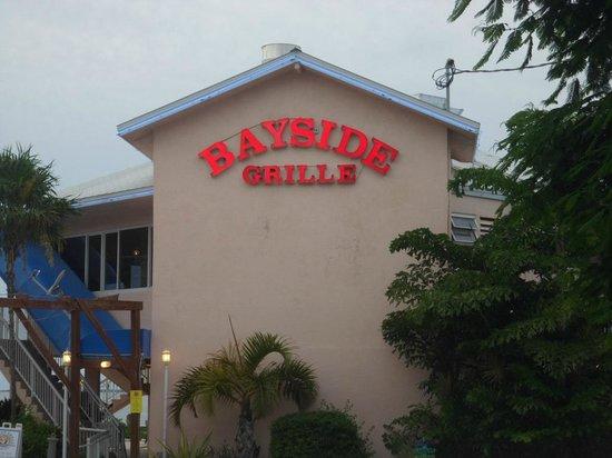 Bayside Grille & Sunset Bar : Exterior