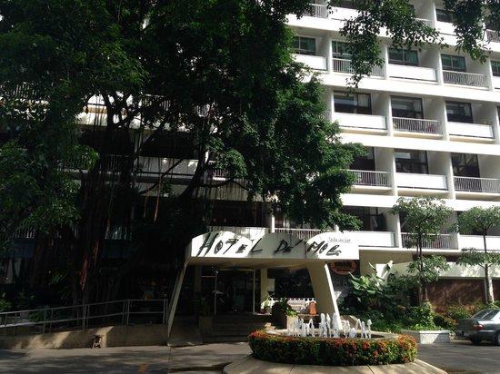 Hotel De Moc: Façade