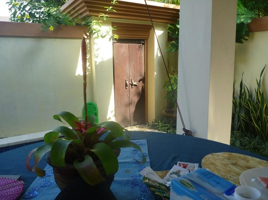 Heliconia Villas: Front entry
