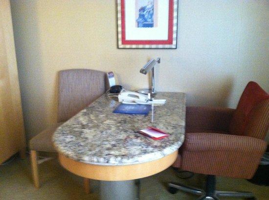 โรงแรมแบลลีส์ ลาส เวกัส แอน คาสิโน: desk in room