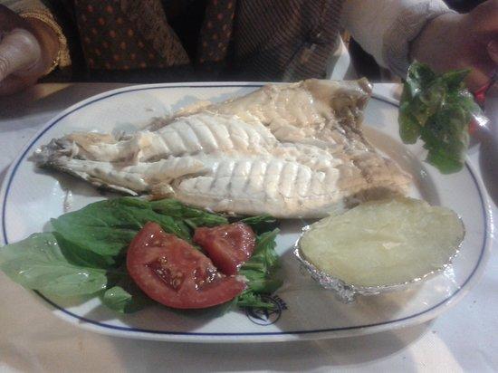 Deniz Restaurant: plato del restaurant