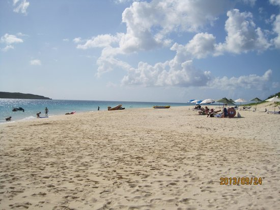 Yonaha Maehama Beach: ビーチの風景