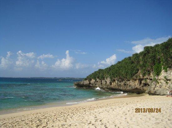 Sunayama Beach: ビーチ