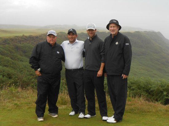 Bandon Dunes Golf Resort : Our group