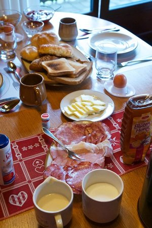 Haus Marie: New Breakfast option for 7€/person