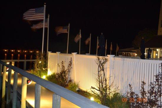 Montauk Yacht Club Resort & Marina: MYC at night