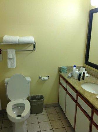 Hawthorn Suites by Wyndham Irving DFW South: bathroom