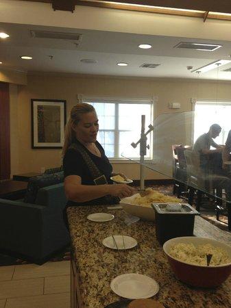 Residence Inn Fort Smith: Complimentary Hot Breakfast every morning