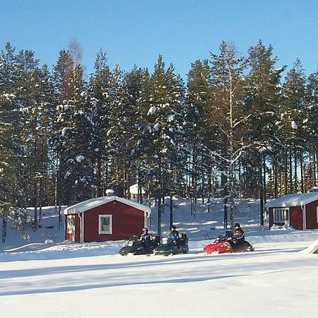 Trehorningsjo, שוודיה: Stugor