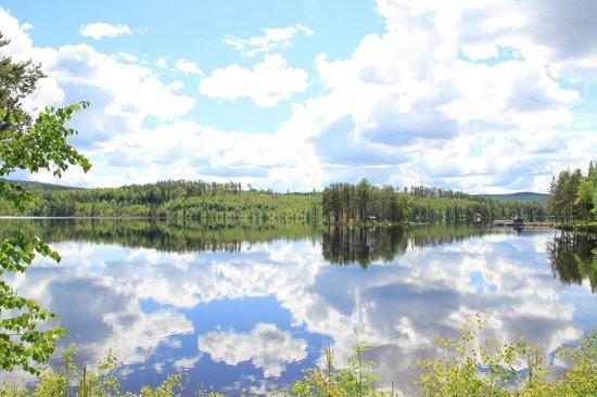 Trehorningsjo, שוודיה: Utsikt från Kerstins Udde mot Äggholmen