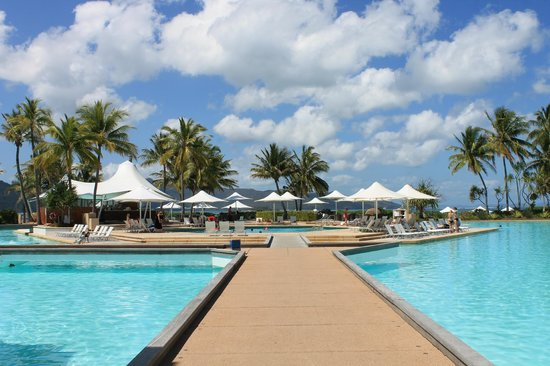 This famous pool of One&Only Hayman Island photo courtesy of TripAdvisor