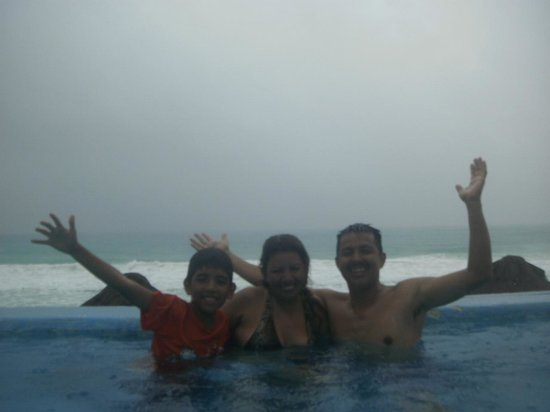 Bsea Cancun Plaza: excelente vista y lugar  de la alberca