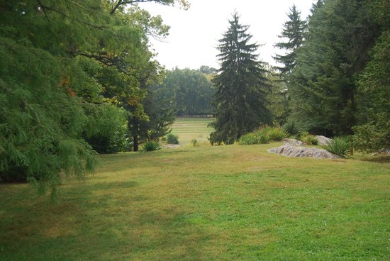 State Arboretum of Virginia : View From Behind the Quarters Building