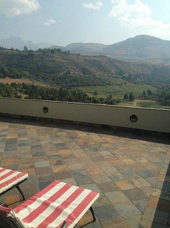 Drakensberg Sun Resort: View from room on 4th floor