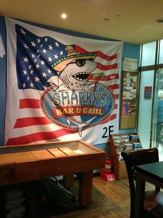 Sharky's Bar and Grill 1 : Sharky's Banner