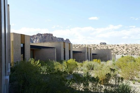 Amangiri: view from room