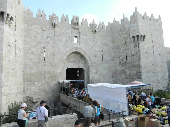 Israel Travel Company - Private Guide Day Tours : Damascus Gate, Old City