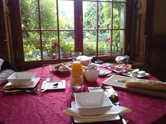 L'Ermitage du Rebberg : Petit déjeuner