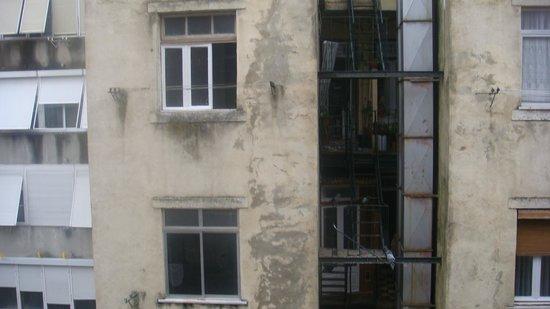 Hotel Do Chile : Aussicht vom Zimmerfenster1