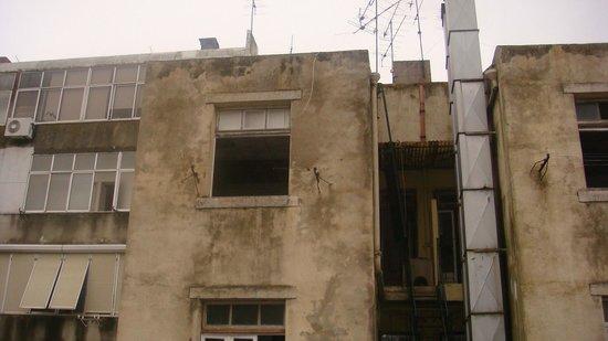 Hotel Do Chile : Aussicht vom Zimmerfenster3