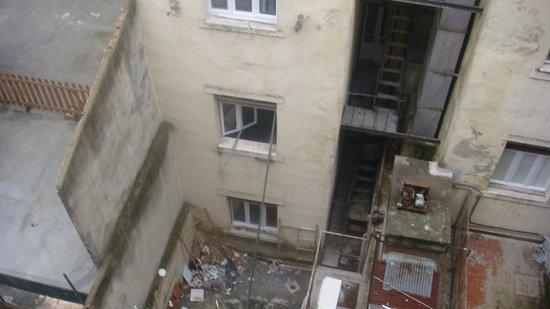 Hotel Do Chile : Aussicht vom Zimmerfenster2