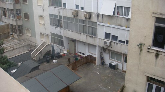 Hotel Do Chile : Aussicht vom Zimmerfenster4