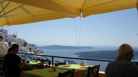 Remvi Restaurant : Vue panoramique
