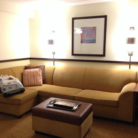 Hyatt Place Ft. Lauderdale Airport & Cruise Port: Superior room with living room