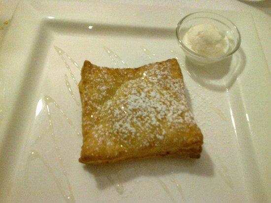 Hostaria 900: Sfogliatina di pere e parmigiano