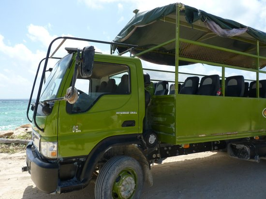 le camion 4x4 picture of croco runners day tours tulum tripadvisor. Black Bedroom Furniture Sets. Home Design Ideas