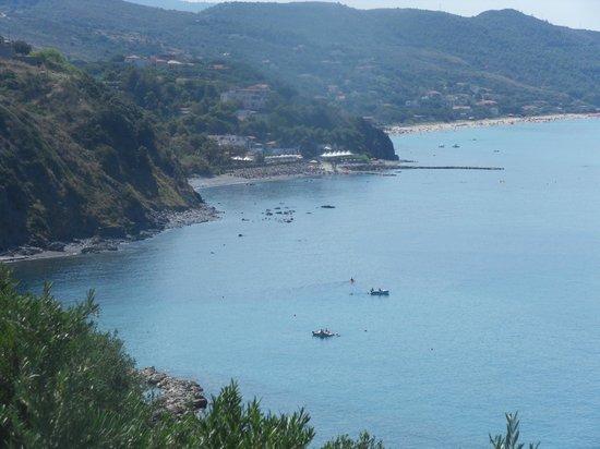 Villaggio Camping Costa del Mito: Vu du camping