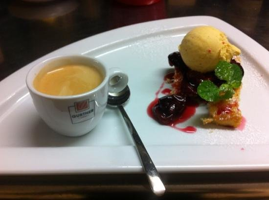 Le Kirchberg: dessert du jour