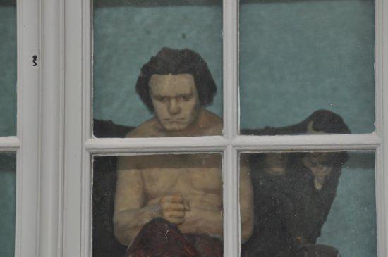 Beethoven House : Le musicien observe les visiteurs