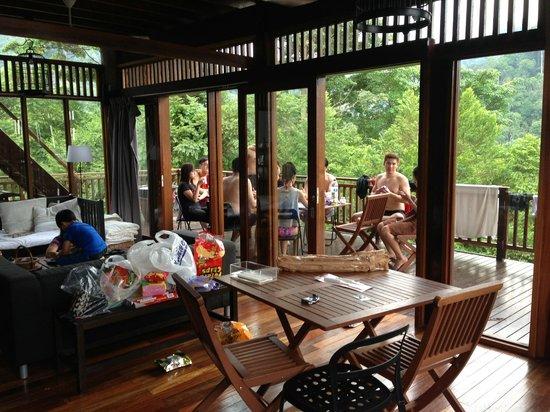 The Shorea: View: Spacious 1st floor, Villa Shorea