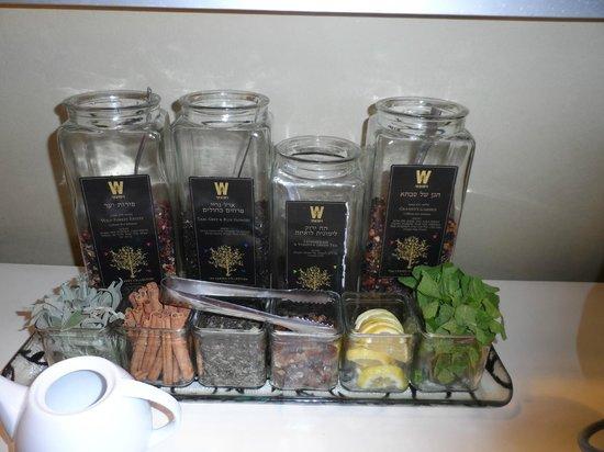 Hotel Prima City Tel Aviv: Tea Lover's Paradise