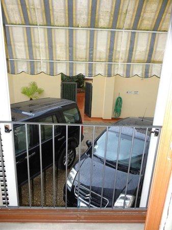 Residence La Contessina: View from patio door room 219